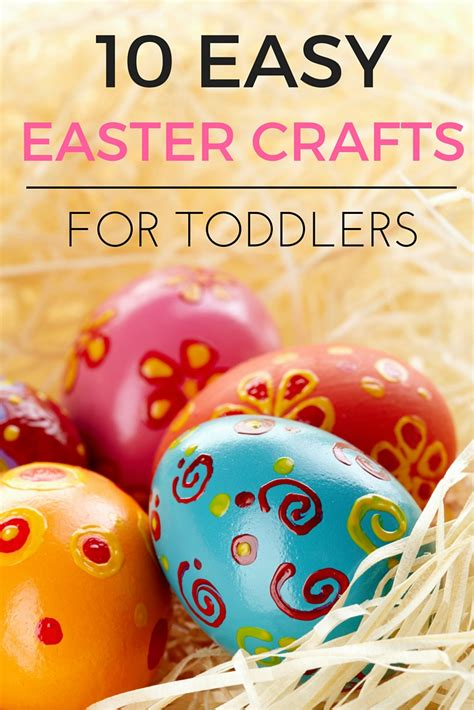easy easter crafts  toddlers   mummy blog