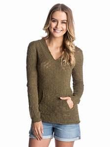 Roxy Womens Warm Heart Hooded Poncho Sweater ERJSW03047 | eBay