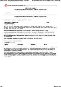 IEC/EN 61643-11 International Standard - Are your Surge