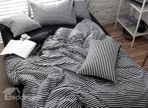 Black And White Striped Duvet Cover by Black And White Striped Duvet Cover Sweetgalas