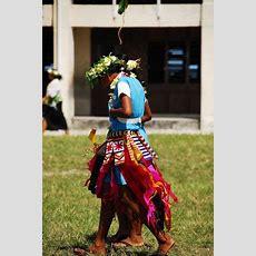 Tuvaluan Kid In Traditional Attire