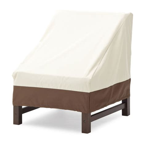 Strathwood Outdoor Furniture Covers by Strathwood Sectional Armless Lounge Chair