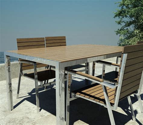 chaises teck best table et chaise de jardin moderne pictures amazing