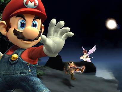 Mario Super Wallpapers Desktop Backgrounds Background Games