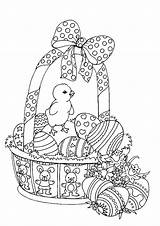 Easter Coloring Adults Pages Adult Basket Colouring Printable Spring Bestcoloringpagesforkids Sheets Colorings Bunny Printables Books Disegni Uploaded 保存 記事 sketch template