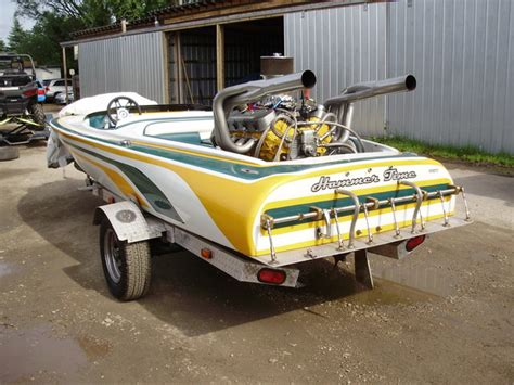Race Junk Boats by 1970 Howard Flat Bottom Drag Boat For Sale In Hilliard Oh
