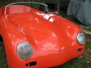 Buy New 1956 Porsche 356 Speedster In Tangerine Orange