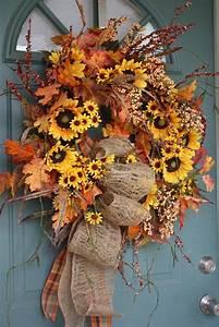 Herbstkränze Selber Machen : bring die herbstfarben in deine wohnung herbstkr nze selber machen ~ Markanthonyermac.com Haus und Dekorationen