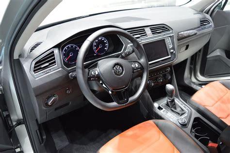 volkswagen tiguan 2016 interior india bound volkswagen tiguan at tokyo motor show