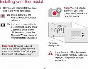 Honeywell Rth9590wf01 Rth9590wf01 User Manual
