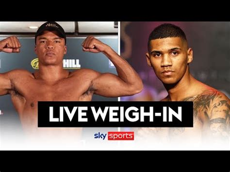 LIVE WEIGH-IN! Conor Benn Vs Formella, Wardley Vs Lartey ...