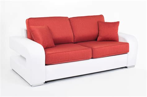 canape convertible couchage permanent canape convertible couchage 140 cm alban wilma blanc 104