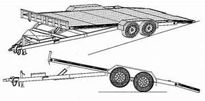 Wiring Diagrams For Trailers Tilt Car Hauler Trailer Plans