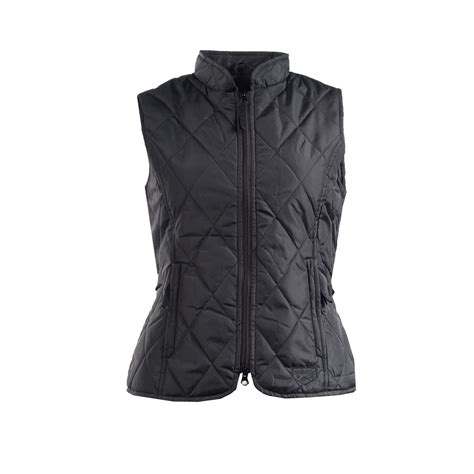 womens quilted vest horze spirit womens classic quilted vest ebay