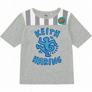T Shirt Keith Haring : uniqlo women sprz ny short sleeve t shirt keith haring in gray lyst ~ Melissatoandfro.com Idées de Décoration