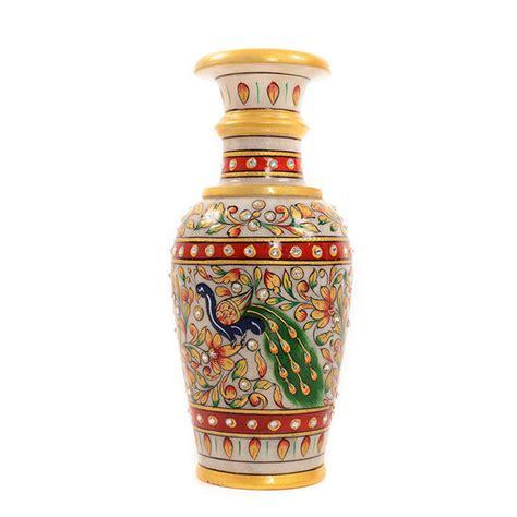 Buy Flower Vase by Buy Indian Handicrafts Marble Flower Vase