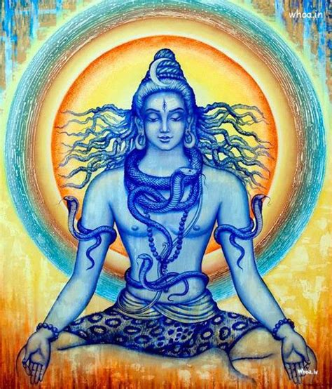 bholenath lord shiva art oil paintings