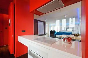 excellent white and red themes kitchen decors with white With kitchen colors with white cabinets with plywood wall art