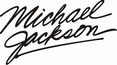Jackson Michael Text Logos Cdr