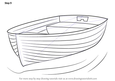 How To Draw A Big Boat Step By Step by Step By Step How To Draw Boat At Dock