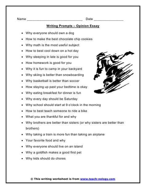 4 interesting essay topics to write about action words list