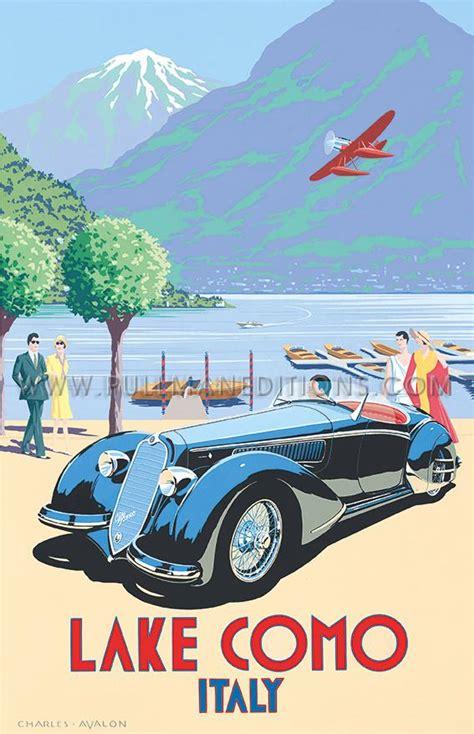 Alfa Romeo 8c2900  Lake Como  Pullman Editions