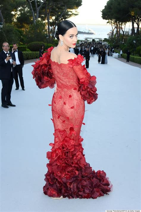 Katy Perry Is The Irl Red Dress