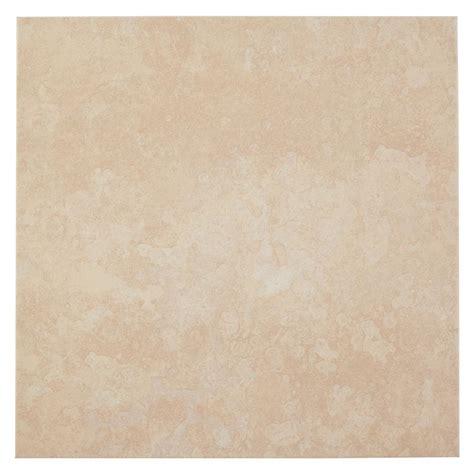 16 ceramic tile trafficmaster sanibel white 16 in x 16 in ceramic floor and wall tile 14 22 sq ft case