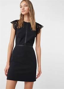 Robe Tendance Ete 2017 : robe noire dentelle 2016 2017 ~ Melissatoandfro.com Idées de Décoration