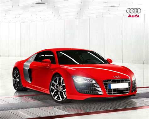 Audi R8 Wallpaper Red