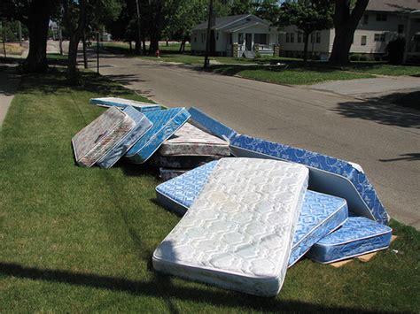 how to throw away mattress mattress disposal services ac trash hauling more
