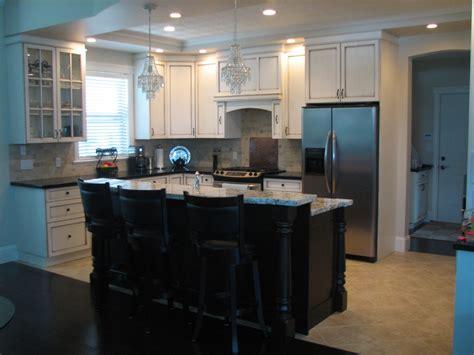 kitchen island ideas with bar kitchen island and bar design decobizz com