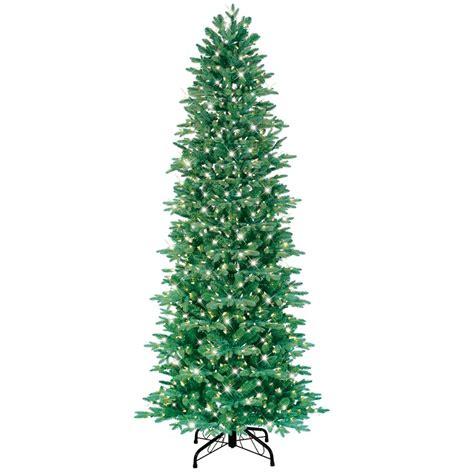 ge 7 5 ft just cut slim aspen fir pre lite artificial