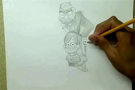 draw gravity falls characters arcmelcom