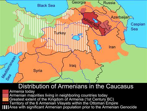 infographics maps    caucasus wars