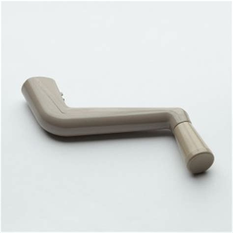 peachtree ariel casement window crank handle   driftwood color pwdservice