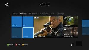 Xbox 360 Comcast Xfinity TV HBO Go And MLBtv Apps Now
