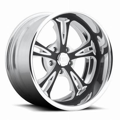 Lug Polished Cartel Wheels Mags U455 Brushed