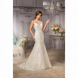 style t182003 by jasmine couture sleeveless fit n flare With fit n flare wedding dress