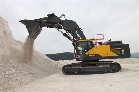 products europes  volvo front shovel excavator