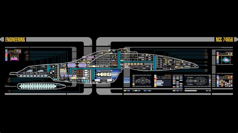 Animated Trek Desktop Wallpaper - trek uss voyager lcars wallpapers hd desktop and