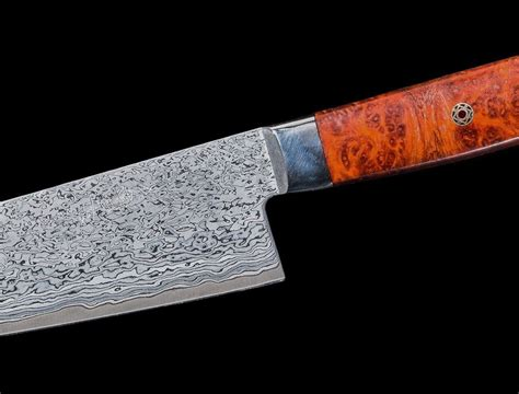 knife kitchen most knives etsy oishi things worlds curly steel gyuto 180mm kitchens