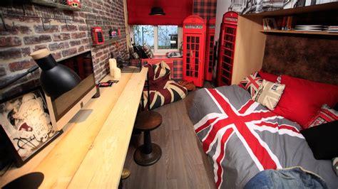 chambre contemporaine ado chambre ado style industriel 05685336 terrasse en bois