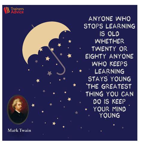 trainers quote   week  mark twain trainers advice