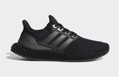 Adidas Ultra 4d Triple Black Fy4286 Release Date Nice