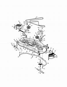 Mower Deck Diagram  U0026 Parts List For Model 917276220