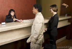 what are the different front desk receptionist jobs