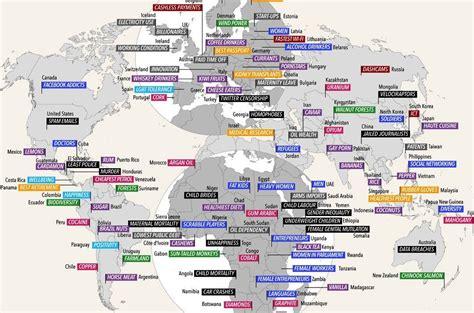 Latvijā - sievietes, Lietuvā - WiFi: pasaules karte ar ...