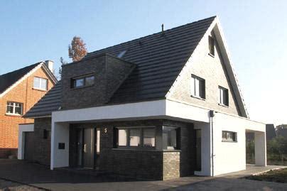 Moderne Klinkerhäuser by Einfamilienhaus Neubau Architektur Modern Mit Satteldach