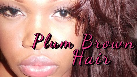 How To Dye Weave Plum/burgundy